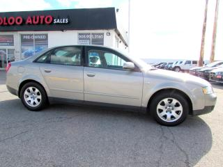 Used 2002 Audi A4 1.8T Quattro LEATHER SUNROOF AUTO for sale in Milton, ON