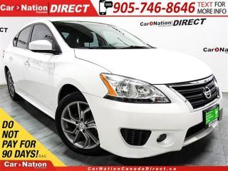 Used 2014 Nissan Sentra 1.8 SR  PUSH START  ONE PRICE INTEGRITY  for sale in Burlington, ON