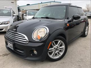 Used 2011 MINI Cooper Base|Leather|Panoramic roof|Bluetooth| for sale in Burlington, ON