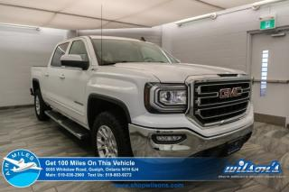 Used 2017 GMC Sierra 1500 SLE  CREW CAB | Z71 4X4 | 5.3L V8 | NAV | REMOTE START | HEATED SEATS | POWER SEAT | REAR CAM for sale in Guelph, ON