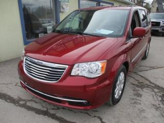 Used 2013 Chrysler Town & Country LOADED TOURING EDITION 7 PASSENGER 3.6L - V6.. CAPTAINS.. STOW-N-GO.. BACK-UP CAMERA.. POWER DOORS AND WINDOWS.. DUAL DVD PLAYER.. for sale in Bradford, ON