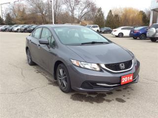 Used 2014 Honda Civic Sedan LX..CLEAN CARPROOF..ONE OWNER for sale in Milton, ON