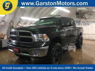Used 2014 Dodge Ram 1500 SXT*CREWCAB*4WD*ROUGH COUNTRY LIFT KIT*SIDE STEPS*TOYO OPEN COUNTRY OFF ROAD TIRES W/MAYHEM RIMS**MBRP DUAL SIDE EXIT EXHAUST*SPRAY IN BED-LINER*FOG L for sale in Cambridge, ON
