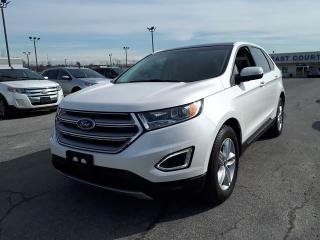 Used 2015 Ford Edge SEL, Leather, Roof, NAV, Remote Start for sale in Scarborough, ON