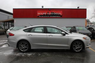 Used 2017 Ford Fusion SE FWD for sale in Surrey, BC