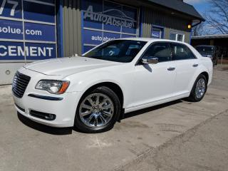 Used 2011 Chrysler 300 Ltd + Cuir + Caméra for sale in Boisbriand, QC