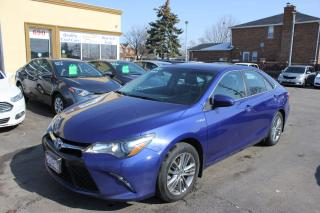 Used 2015 Toyota Camry SE Hybrid for sale in Brampton, ON