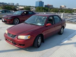 Used 2001 Toyota Corolla 4DR SDN for sale in North York, ON