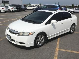 Used 2010 Honda Civic EX-L w/Leather & Sunroof for sale in North York, ON