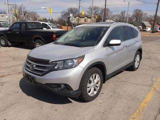 Used 2012 Honda CR-V AWD Touring with Leather for sale in North York, ON