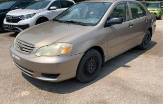 Used 2004 Toyota Corolla 4DR SDN for sale in North York, ON