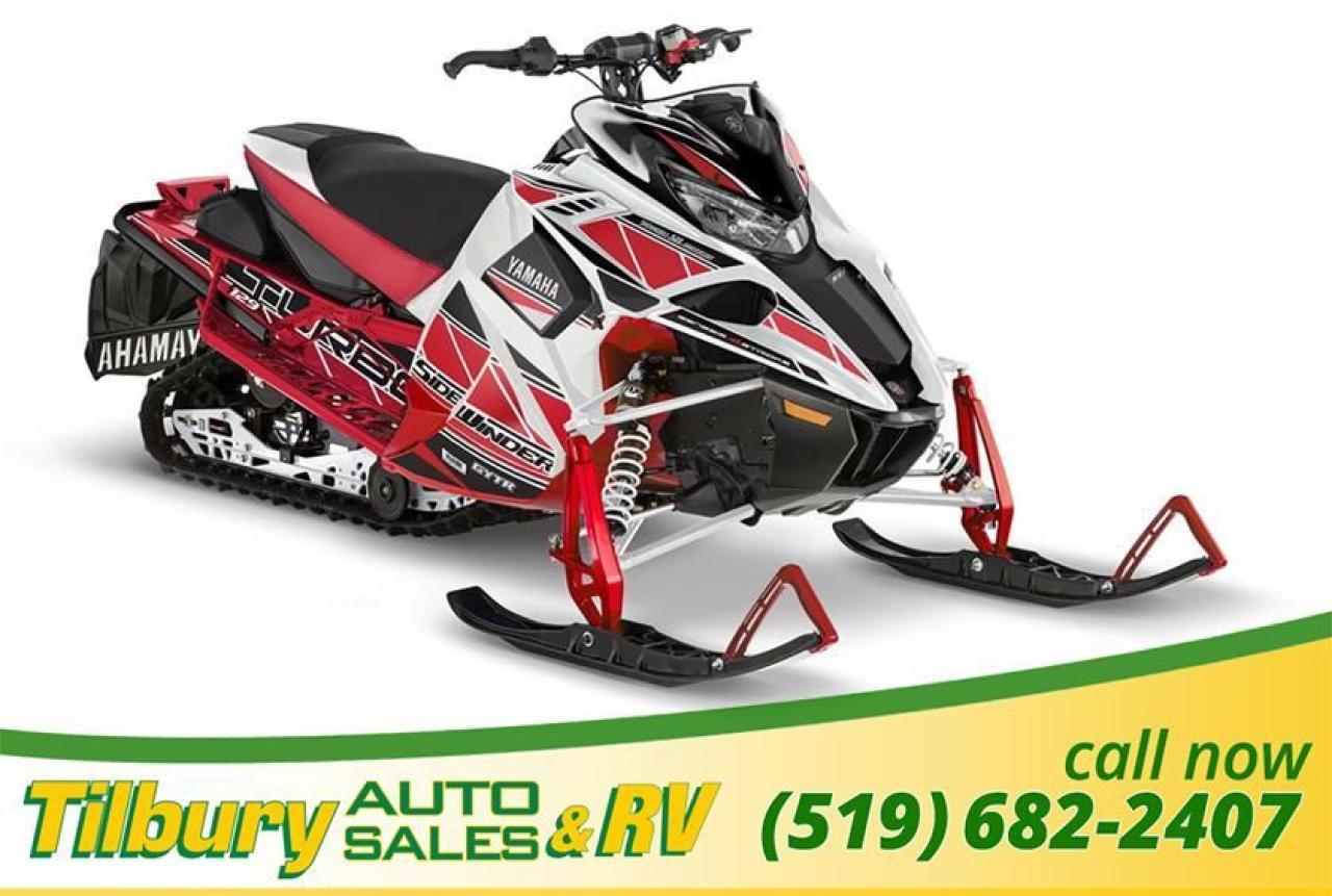 2018 Yamaha SIDEWINDER L-TX SE 137 50TH ANNIVERSARY SLED. DEMO. RARE.