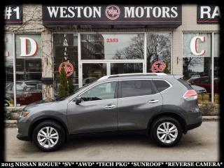 Used 2015 Nissan Rogue SV*AWD*TECH PKG*SUNROOF*REVERSE CAMERA!!* for sale in York, ON