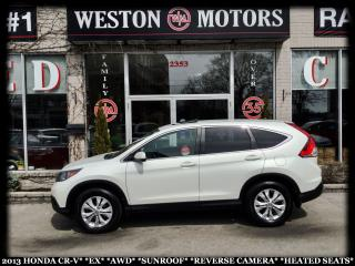 Used 2013 Honda CR-V EX*AWD*SUNROOF*REVERSE CAM*HEATED SEATS!!* for sale in York, ON