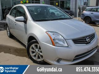 Used 2012 Nissan Sentra 2.0 S POWEROPTIONS/CRUISE/AIRCONDITIONING for sale in Edmonton, AB