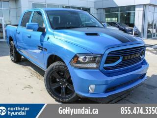 Used 2018 Dodge Ram 1500 HYDRO BLUE LEATHER ROOF NAV for sale in Edmonton, AB