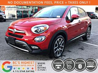 Used 2017 Fiat 500 X Trekking - Dual Pane Sunroof / No Dealer Fees for sale in Richmond, BC