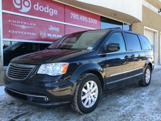 Used 2015 Chrysler Town & Country TOURING STOW AND GO BACK UP CAMERA 6.5 TOUCH SCREEN for sale in Edmonton, AB