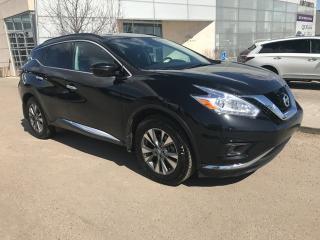 Used 2017 Nissan Murano SV/ALL WHEEL DRIVE/HEATED SEATS/HEATED WHEEL/NAVIGATION for sale in Edmonton, AB
