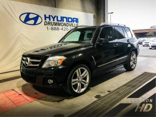 Used 2011 Mercedes-Benz GLK350 PREMIUM 4 MATIC + TOIT PANO + MAGS 20'' for sale in Drummondville, QC