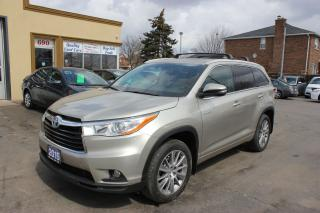 Used 2015 Toyota Highlander Hybrid XLE for sale in Brampton, ON