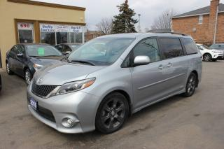 Used 2016 Toyota Sienna SE Loaded Sunroof for sale in Brampton, ON