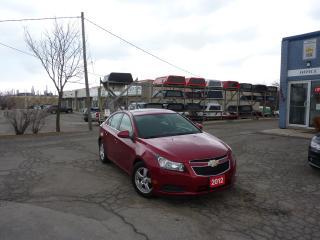Used 2012 Chevrolet Cruze LT Turbo+ w/1SB,LOW MILEAGE,LIKE NEW for sale in Kitchener, ON