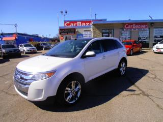 Used 2013 Ford Edge Limited AWD LTHR ROOF for sale in Brampton, ON