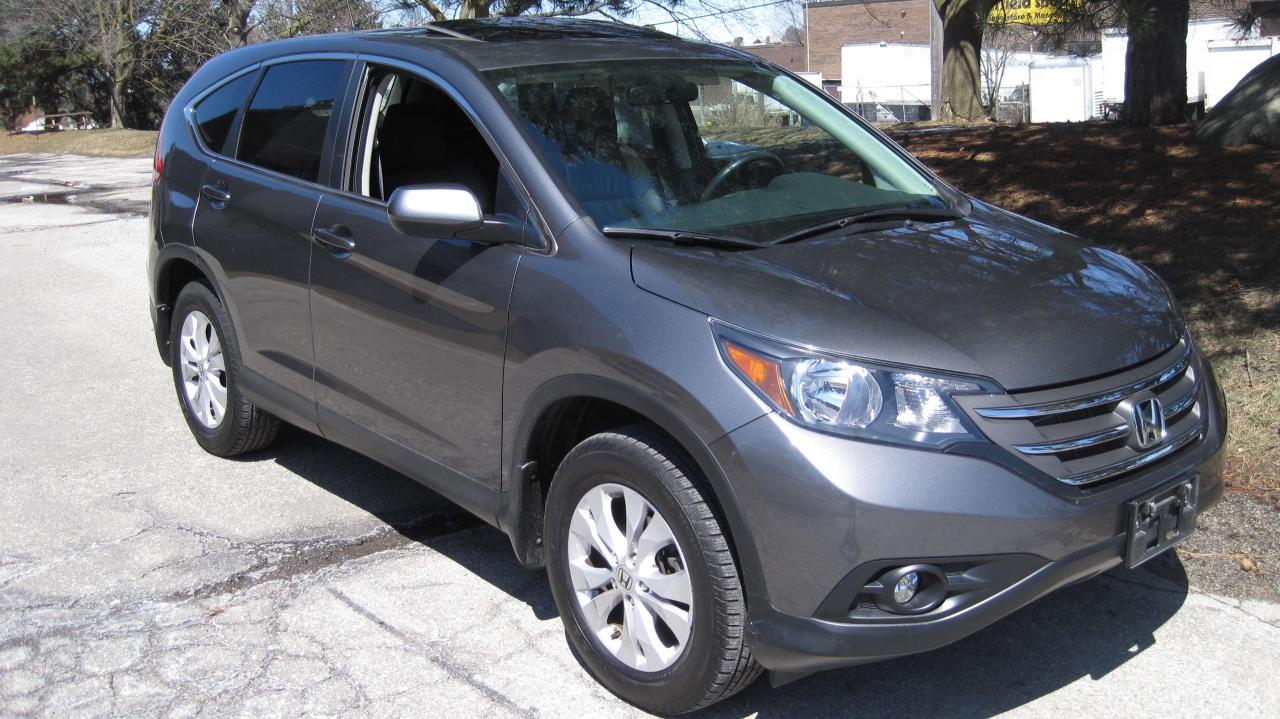 Photo of Gray 2014 Honda CR-V
