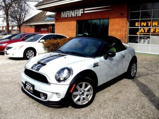 Used 2014 MINI Cooper Roadster S Navi Loaded Leather Cert for sale in Concord, ON