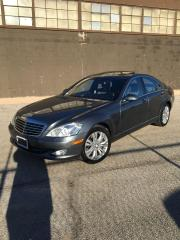 Used 2008 Mercedes-Benz S-Class AWD - NAVIGATION - WOOD STEERING for sale in North York, ON