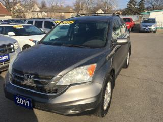 Used 2011 Honda CR-V EX, 4WD for sale in St Catharines, ON