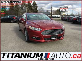 Used 2013 Ford Fusion Titanium+AWD+GPS+Camera+Leather Heated Seats+R.S.+ for sale in London, ON