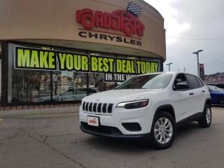 Used 2019 Jeep Cherokee Sport R-CAM ALLOY WHEELS+2 YR MAINTENANCE PLAN for sale in Scarborough, ON