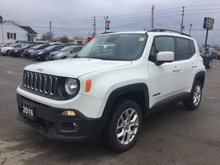 Used 2016 Jeep RENEGADE 4WD * REAR CAM * NAVIGATION * BLUETOOTH for sale in London, ON