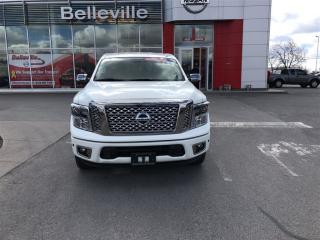 Used 2017 Nissan Titan Platinum Reserve 1 owner local trade for sale in Belleville, ON
