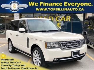 Used 2010 Land Rover Range Rover Supercharged, Fully Loaded, 2 Years WARRANTY for sale in Concord, ON