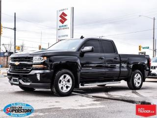 Used 2016 Chevrolet Silverado 1500 LT Z71 ~Backup Camera ~Heated Leather for sale in Barrie, ON