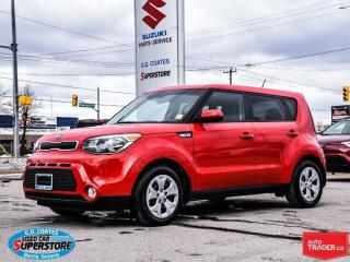 Used 2016 Kia Soul LX  ~Practical ~Five-Star Safety Rating for sale in Barrie, ON