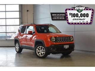 Used 2017 Jeep Renegade North- 4x4, GPs, Bluetooth, Back Up Cam for sale in London, ON