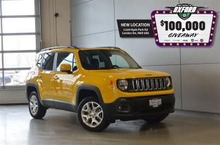 Used 2017 Jeep Renegade North - 4x4, Bluetooth, Back Up Cam, Heated Seats for sale in London, ON