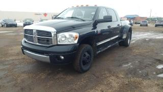 Used 2008 Dodge Ram 3500 Laramie Mega Cab 4WD for sale in Stettler, AB