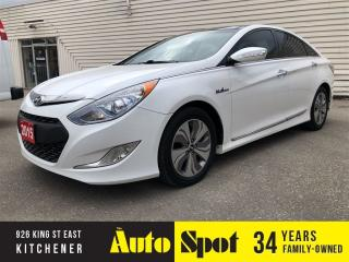 Used 2015 Hyundai Sonata Hybrid Limited w/Technology Pkg/ for sale in Kitchener, ON
