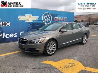 Used 2017 Buick LaCrosse PREMIUM PKG, ADAPTIVE CRUISE, SUNROOF, NAVIGATION for sale in Ottawa, ON