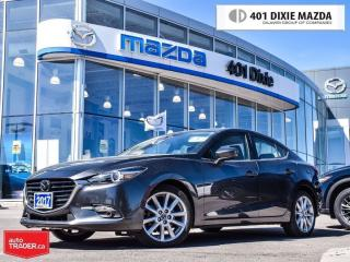 Used 2017 Mazda MAZDA3 GT (A6),LOW FINANCE RATES,NO ACCIDENTS,LEATHER for sale in Mississauga, ON