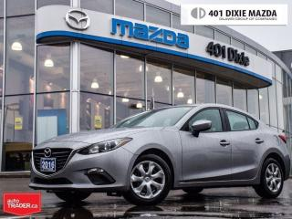 Used 2016 Mazda MAZDA3 GX,LOW FINANCE RATES,REARVIEW CAMERA,NO ACCIDENTS for sale in Mississauga, ON