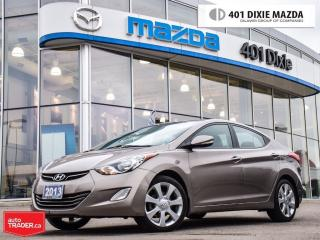 Used 2013 Hyundai Elantra Limited w/Nav, NO ACCIDENTS, LOW FINANCE RATES for sale in Mississauga, ON