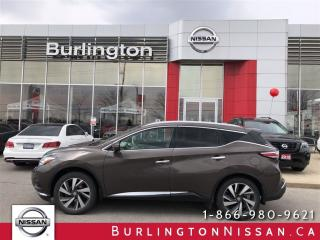 Used 2015 Nissan Murano PLATINUM, NAVIGATION, ACCIDENT FREE ! for sale in Burlington, ON
