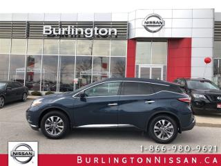 Used 2016 Nissan Murano SV, AWD, ACCIDENT FREE ! for sale in Burlington, ON