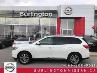 Used 2015 Nissan Pathfinder SL, NAVIGATION, ACCIDENT FREE ! for sale in Burlington, ON